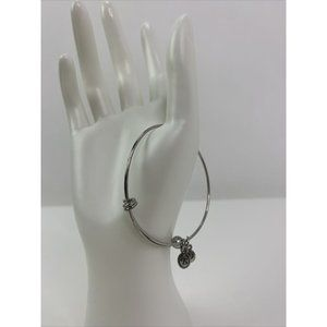 Brighton Slide Open Charm Bangle Silver Bracelet